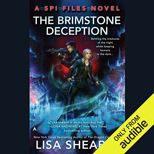 The Brimstone Deception audiobook cover art