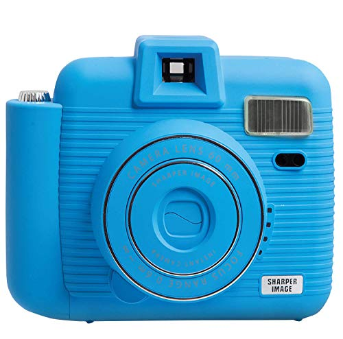 Sharper Image IC2018 Instant Camera, Blue