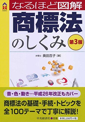 なるほど図解 商標法のしくみ<第3版> (CK BOOKS)