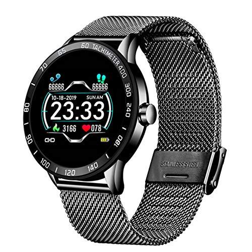 ZYY 696 N58 ECG PPG Smart Watch con ECG Pantalla ECG Pantalla ECG Holter Monitor De Ritmo Cardíaco Monitor De La Presión Sanguínea Smart Bracele,E