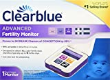 Best Fertility Monitors - Clearblue Advanced Fertility Monitor, Touch Screen Monitor, 1ct Review