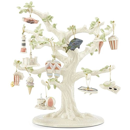 Lenox Set of Ornaments for Ornament Tree (Tree Not Included) (Summer)