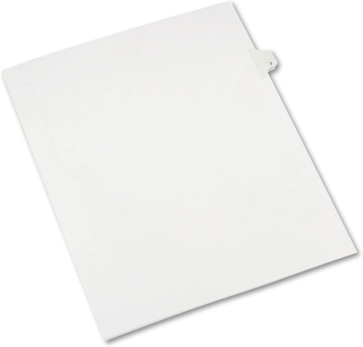 Excellent Avery 82205 Allstate-Style Legal Ranking TOP16 Exhibit Side Title Tab Divider