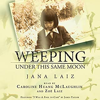 Weeping Under This Same Moon audiobook cover art