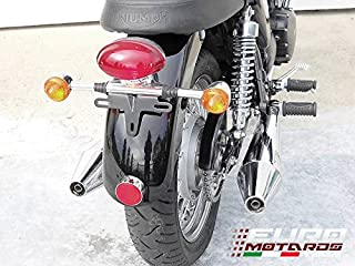 Triumph Bonneville T100 Injection Zard Exhaust Polished Mufflers +1.5HP