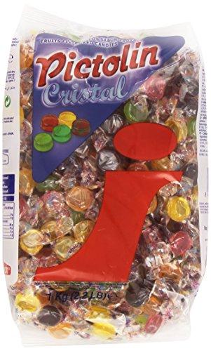 Pictolin - Cristal - Caramelo sabor frutas - 1 kg