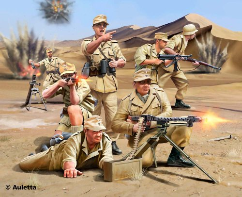Revell - 02616 - Maquette - Africa Corps Wwii