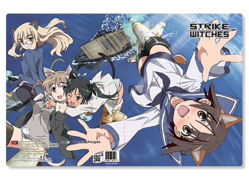 Strike Witches Group Pocket File Folder