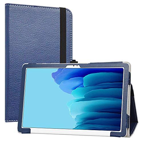 LiuShan Compatible con Galaxy Tab A7 Funda, Folio Soporte PU Cuero con Caso para 10.4
