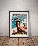 Rac76yd Puerto rico Puerto rico Reise Poster Puerto rico