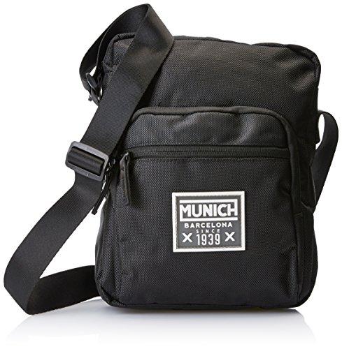 Munich 705201, Shopper y Bolso para Hombre, Negro (Black), 7x29x22 cm (W x H x L)
