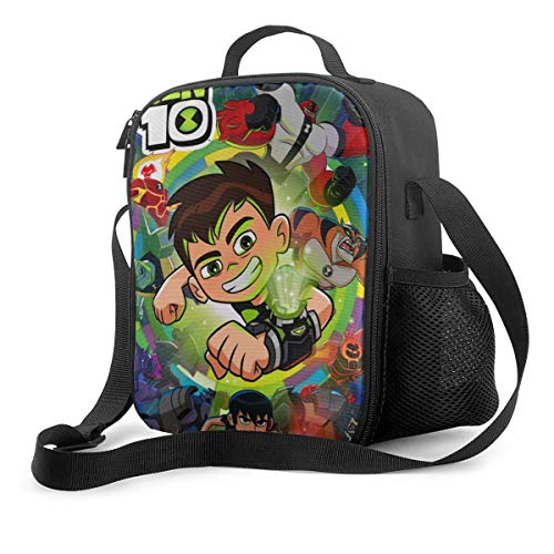 Qushy Ben 10 Lunch Bag Cooler Bag Lunch Box Soft Liner Lunch Bags for Picnic