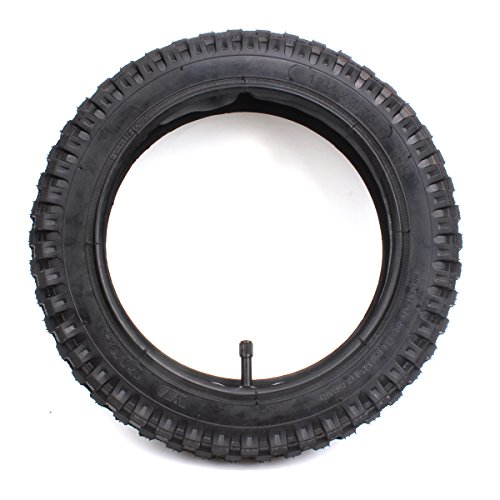 12 1/2x2,75(12,5x2,75pulgada) Juego de neumáticos y cámara de Aire Reemplazo para Mini bolsill Dirt bolsill Razor MX350 MX400 X-560 Scooter Currie Schwinn