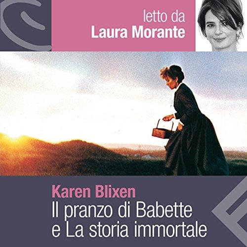 Il pranzo di Babette e La storia immortale audiobook cover art