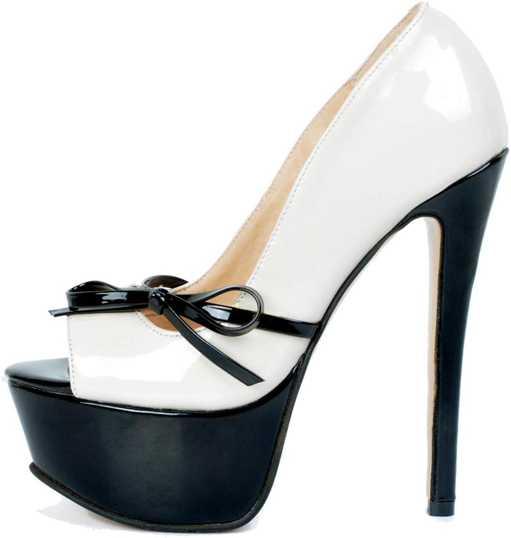 Original Intention Women's High Heels Platform shoes Peep Toe Pumps Dress Wedding Party Plus Size 4-20 Beige
