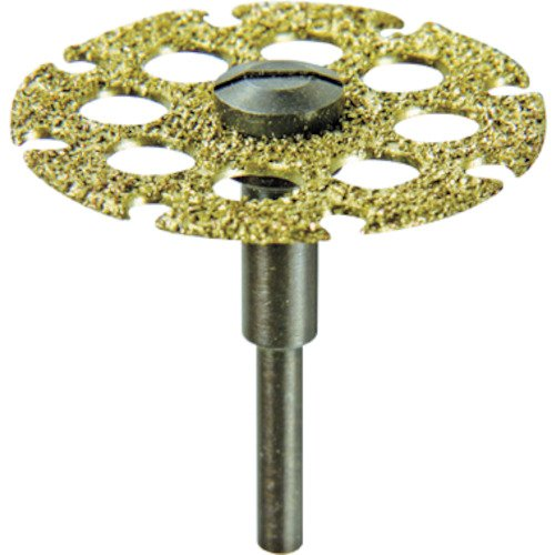 Dremel 543 1-1/4 inch Cutting/Shaping Wheel,Silver