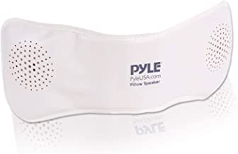 Pyle PPSP18 Bluetooth Pillow Speaker, Rechargeable Portable Sleep Therapy Noise Sound Machine with Soothing All-Natural So...