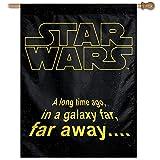 WinCraft Star Wars Star Wars Star Wars/Original Trilogy 28' x 40' Vertical FlagWinCraft Star Wars/Original Trilogy 28' x 40' Vertical Flag, Multicolor