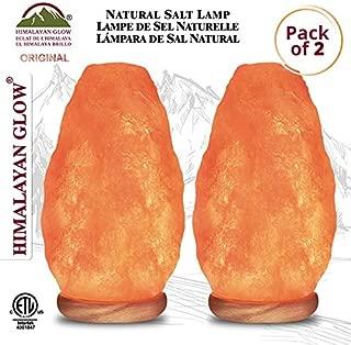Himalayan Glow 1004B Extra Heavy Large Himalayan Salt Lamp, 6 x 6 x 11 inches, Floor lamp, 15 to 20 lbs