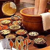 PMJAdd8s110 10pcs Herbal Detox Foot Soak Pack, Foot Bath Herb Bag, Foot Reflexology Chinese Medicine Powder Kits Cold Blood, Foot Bath Massager Soak - Stress Relief, Foot Pain Relief