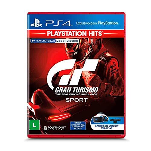 Jogo Gran Turismo Sport - Ps4 Mídia Física