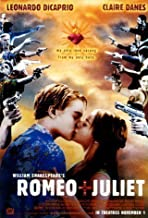 Romeo And Juliet Guns Huge Vintage PAPER Movie Poster Measures 40 x 27 Inches (100 x 70 cm ) approx