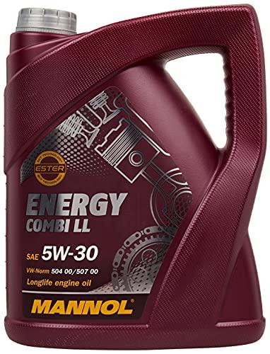 Mannol Motoröl 5L SAE 5W-30; API SM/CF; ACEA C3/A3/B4 SAE 5W-30; API SM/CF;