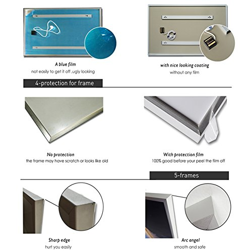 ColdFighting Geringer Rabatt 600 * 1000mm 600W Bild Fernes Infrarot -Panel Elektrische Heizung Wand Heizung Bild 3*
