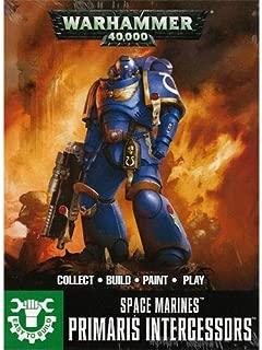 Games Workshop Warhammer 40k Easy to Build Space Marine Primaris Intercessors