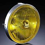 (マーシャル) ヘッドライト 汎用 889ドライビングランプ 180φ汎用ライトユニット イエローレンズ