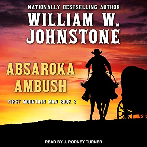 Absaroka Ambush audiobook cover art