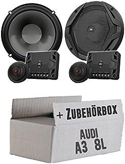 JBL GX600C   2 Wege   16cm Lautsprecher System   Einbauset für Audi A3 8L Heck   JUST SOUND best choice for caraudio