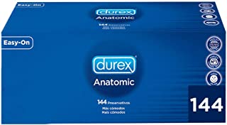 Durex Preservativos Anatomic - 144 Condones Naturales