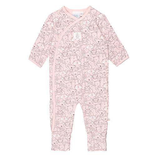 Feetje Baby-Mädchen Overall mit Klappfuß We Are Family Girls, rosa, 68