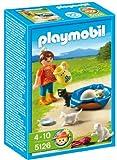 PLAYMOBIL - Familia de Gatos con niña, Set de Juego (5126)