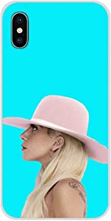 Inspired by Lady Gaga Phone Case Compatible With Iphone 7 XR 6s Plus 6 X 8 9 Cases XS Max Clear Iphones Cases TPU - Vinyl- Nails- Unplugged- Hbo- Hbo- 4000098482751