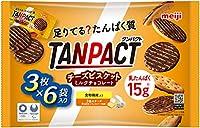 明治 タンパクト(TANPACT) チーズビスケットミルクチョコレート大袋 18枚入り