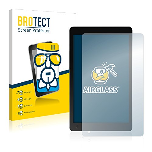 BROTECT Panzerglas Schutzfolie kompatibel mit Medion Lifetab P10606 (MD 60526) - AirGlass, 9H Festigkeit, Anti-Fingerprint, HD-Clear