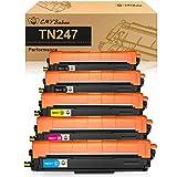 CMYBabee Cartucho de Tóner Compatible Repuesto para Brother TN247 TN243 para HL-L3210CW HL-L3230CDW HL-L3270CDW MFC-L3710CW MFC-L3730CDN MFC-L3750CDW MFC-L3770CDW DCP-L3510CDW DCP-L3550CDW(5 Paquete)