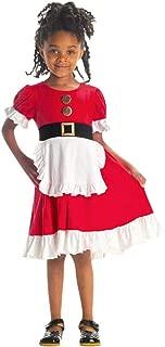 pengchengxinmiao-Clearance Christmas Baby Girls Maid Dress Xmas Santa Party Princess Dress Cosplay Photo Prop Costume