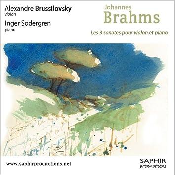 Les trois sonates pour violon et piano