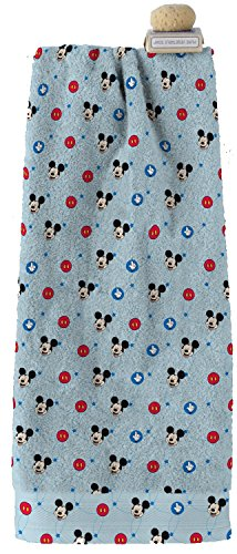Disney Toalla de Playa Niño 70x140 Terciopelo ultra absorbente ideal para playa, piscinas y también su uso en el hogar (Mickey)