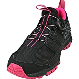 ASICS Women's Gel-FujiRado Trail Running Shoes (8.0 B(M) US, Black/Carbon/Cosmo Pink)