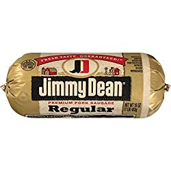 Jimmy Dean, Premium Pork Regular Sausage Roll, 16 oz