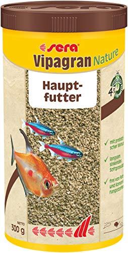 sera 00203 vipagran 1000 ml - das Hauptfutter aus langsam sinkendem Softgranulat