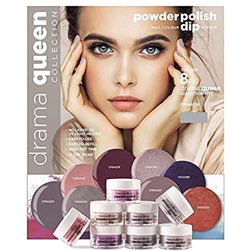 Cuccio Pro Powder Polish Nail Colour Dip System - Drama Queen 8 X 0.5 Oz, 8count, pink, I0100555