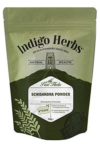 Indigo Herbs Schisandra Berren Pulver 250g