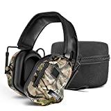 TOENNESEN 2019 Electronic Ear Protection Noise Cancelling Headphones Sound Amplification Electronic Earmuff, NRR 27 dB Ideal for Shooting and Hunting