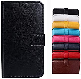 COVO Vodafone Smart N10 Case,PU Leather Wallet Case,Flip Cover with Kickstand and Card Slots,Card Holder Case for Vodafone...