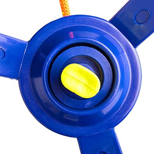 51v+uMxXWjL. SL500  - Cateam Rueda giratoria Ninja Line con articulación giratoria de 360 grados y mosquetón ninjaline, accesorio giratorio de 360 grados para tu carrera de obstáculos